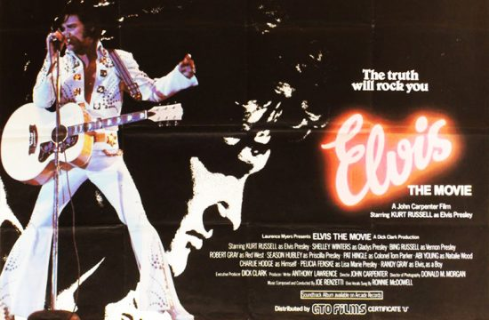 Elvis UK movie poster