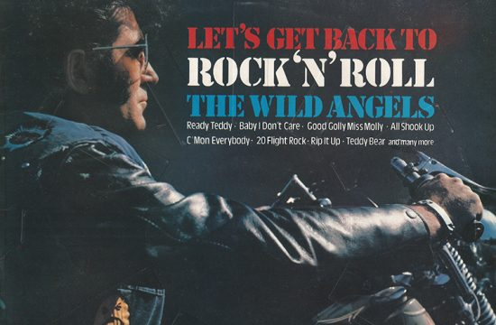 Wild Angels - Let's Get Back To Rock'n'Roll (1975) sleeve scan front made into a thumbnail