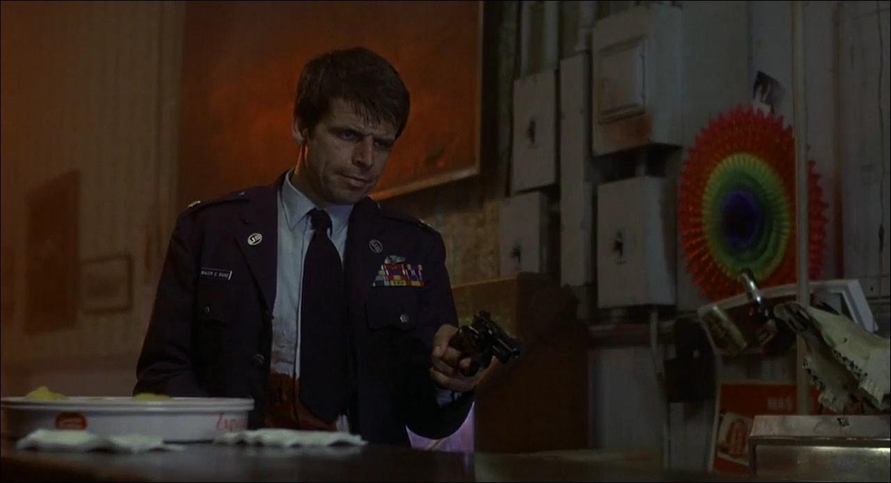 Чарльз Рэйн, Уильям Дивэйн, Гремящий гром, 1977, кадр из фильма