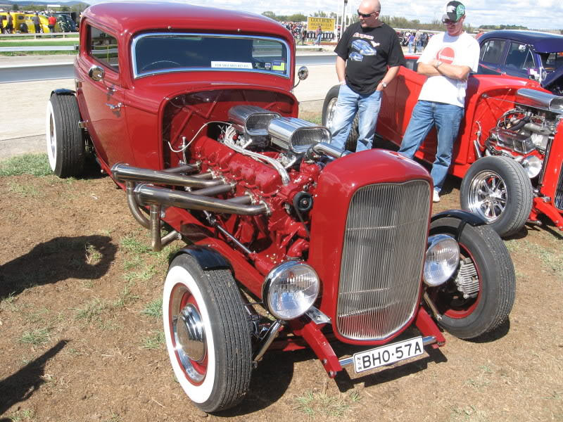 Elvis the GMC V12 hot-rod front quarter 2