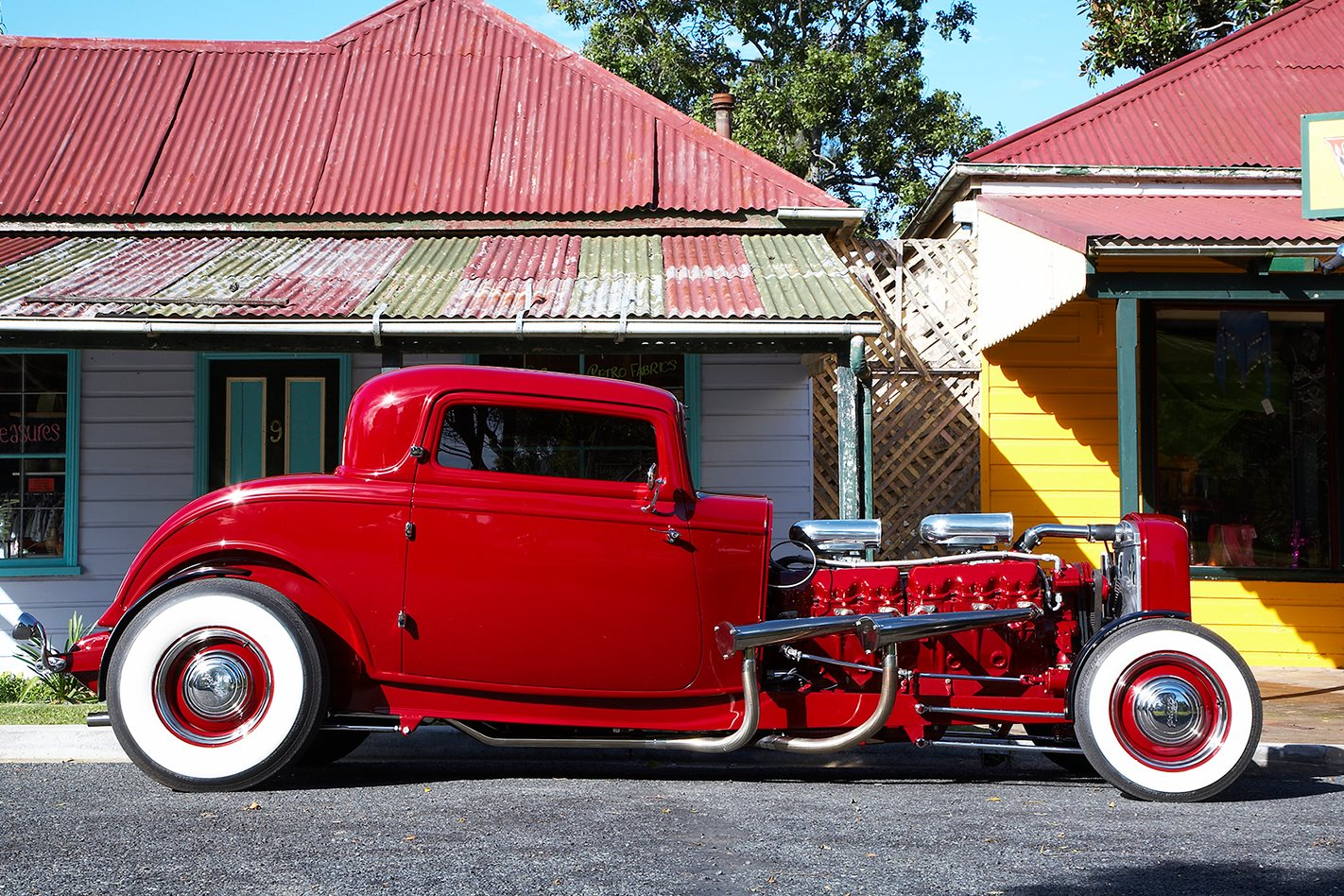 Elvis the GMC V12 hot-rod side