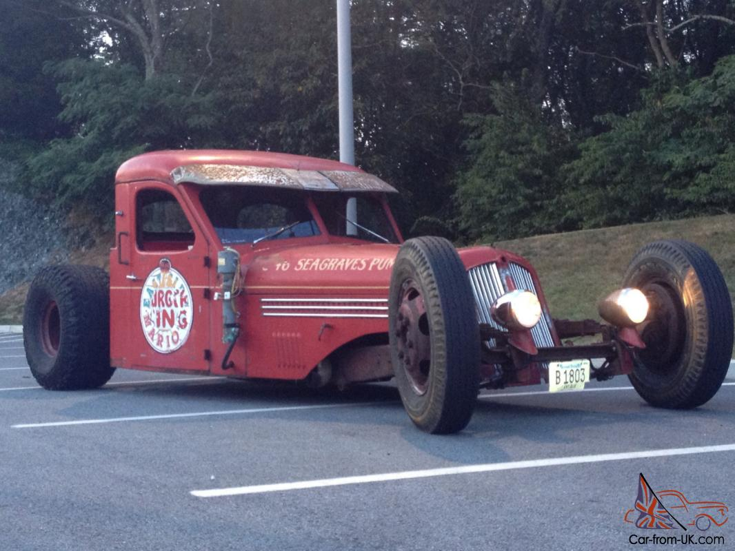 1946 Seagrave rat rod at first auction, photo 06
