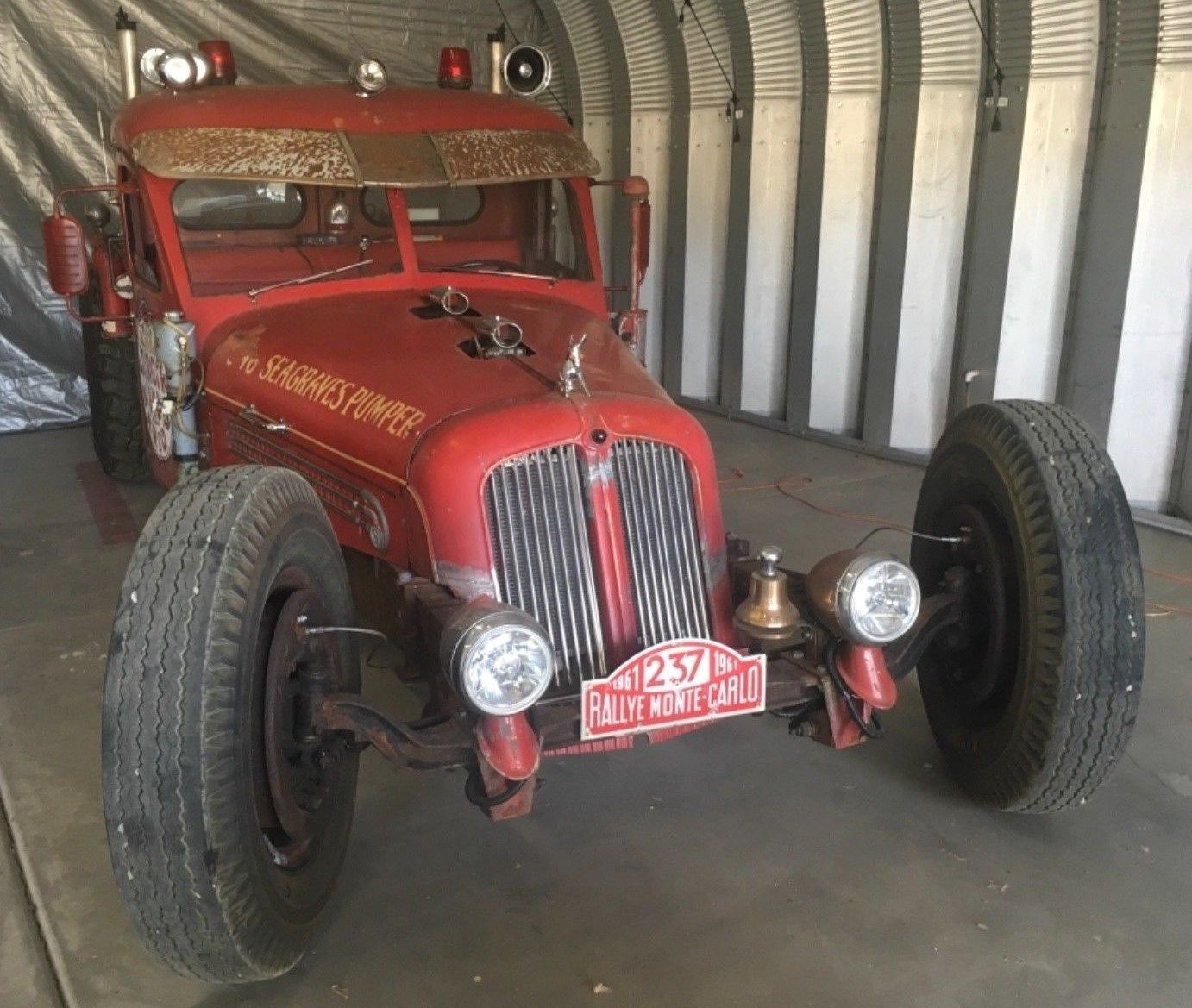 1946 Seagrave rat rod at second auction, photo 01