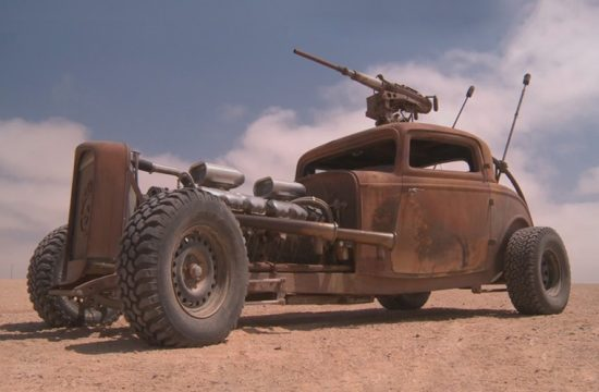 Mad Max: Fury Road themed thumbnail for the article about GMC V12-powered hot-rod named Elvis.