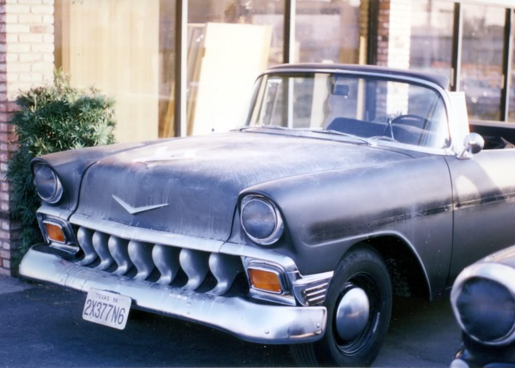 Chevrolet Bel Air 1956, вид спереди, машина Дьюда