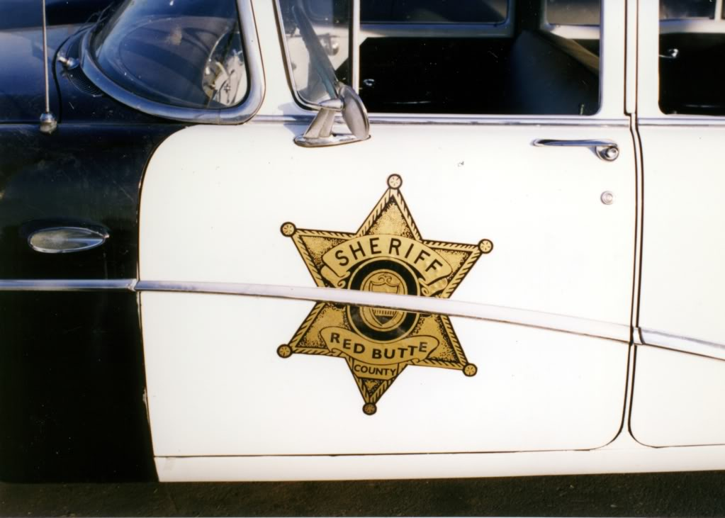 Red Butte, sheriff car, Roadracers
