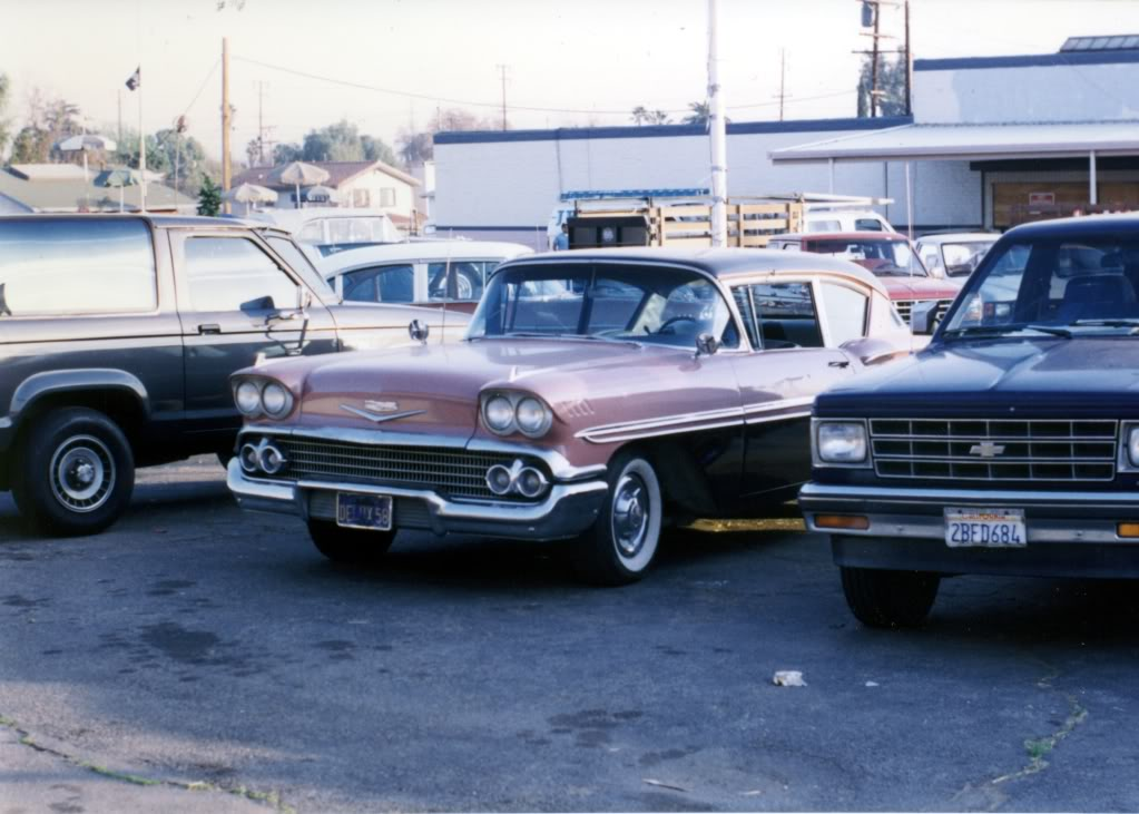 1958 Chevrolet Biscayne, машина из серий Rebel Highway, Мятежное Шоссе