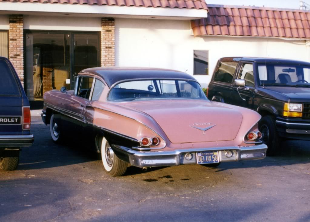1958 Chevrolet Biscayne, Мятежное Шоссе