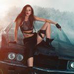 Инга Лис и американские автомобили