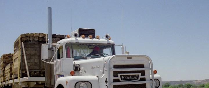 Brockway, note the husky on the hood, Convoy 1978