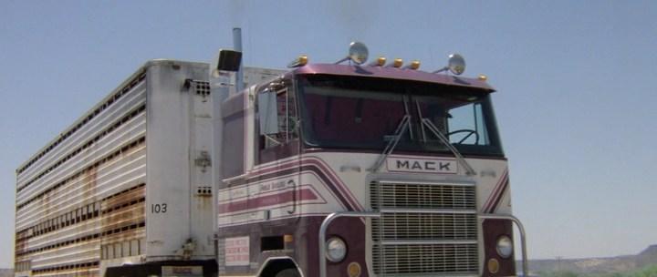 грузовик Mack, фильм Конвой, 1978
