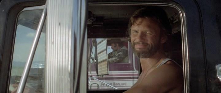Rubber Duck smiling at us, Крис Кристофферсон, кадр из фильма Конвой, 1978