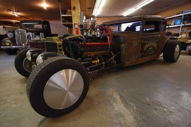 Seagrave V12 rat-rod, shot 2.