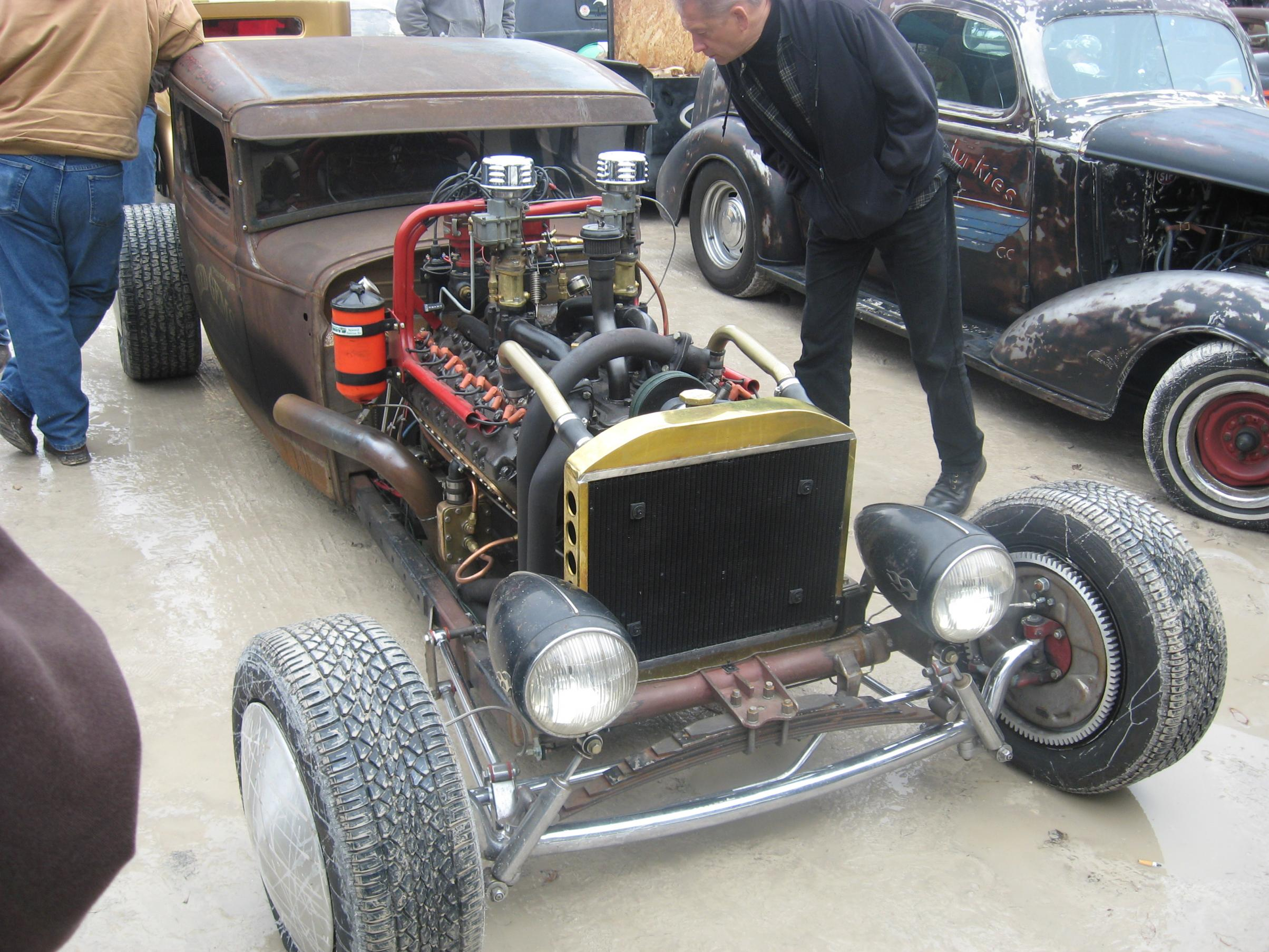 Seagrave V12 rat-rod, shot 7.
