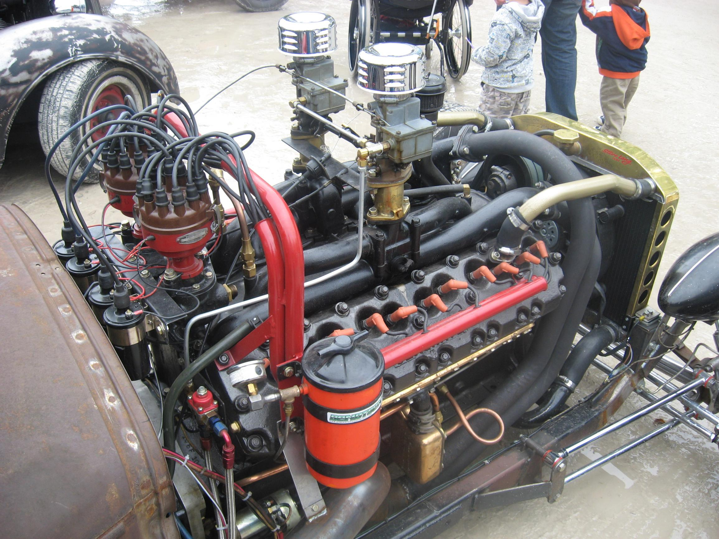 Seagrave V12 rat-rod, shot 9.