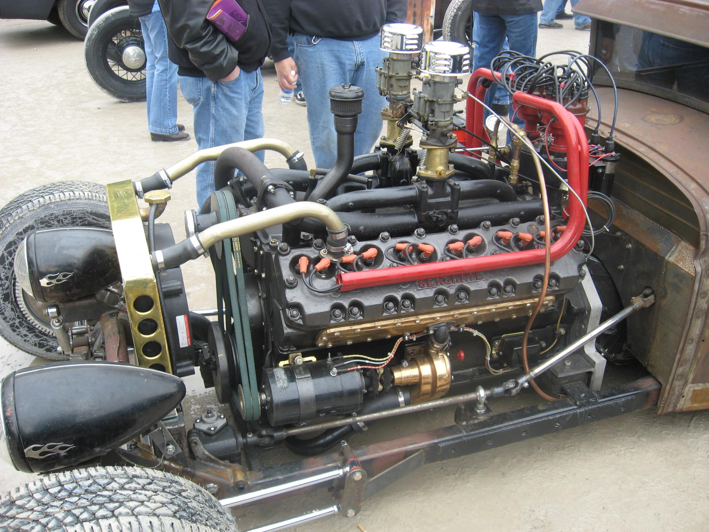 Seagrave V12 rat-rod, shot 10.