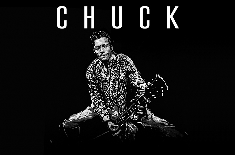 Album cover for Chuck Berry's Chuck (2017) made into a thumb.
