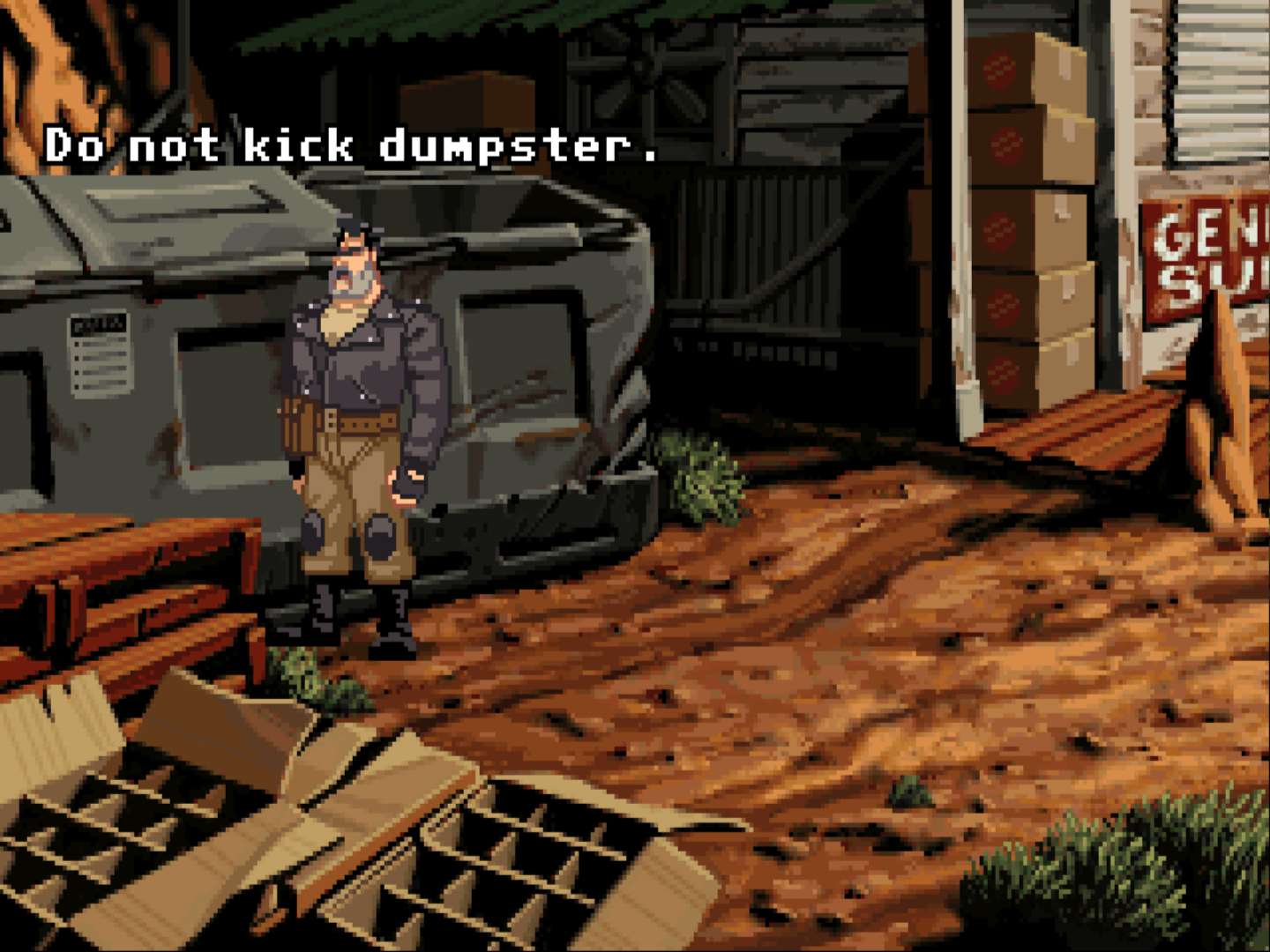Full Throttle screenshot 1.