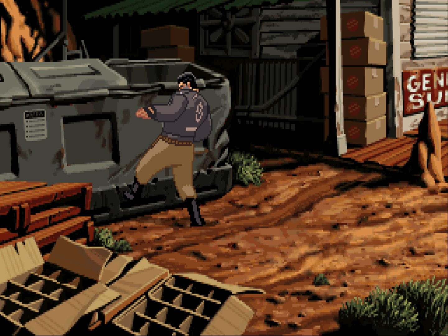 Full Throttle screenshot 2.