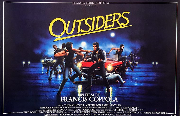 The Outsiders (1983) poster converted into a thumb.