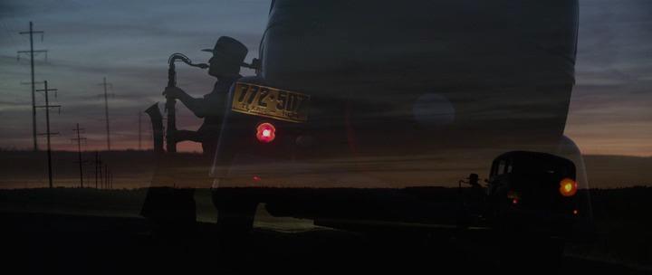 Клайд Бэрроу, В погоне за Бонни и Клайдом, кадр из фильма