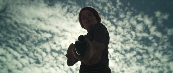 Бонни Паркер, кадр из фильма В погоне за Бонни и Клайдом
