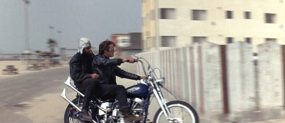 That movie still that inspired the Easy Rider.