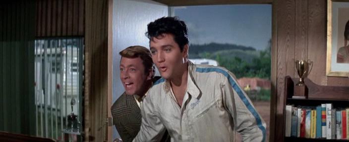 Elvis Presley, Speedway 1968, Элвис, кадр из фильма Спидвей