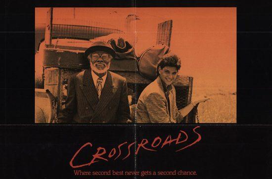 Crossroads (1986) poster, обзор фильма Перекрёсток