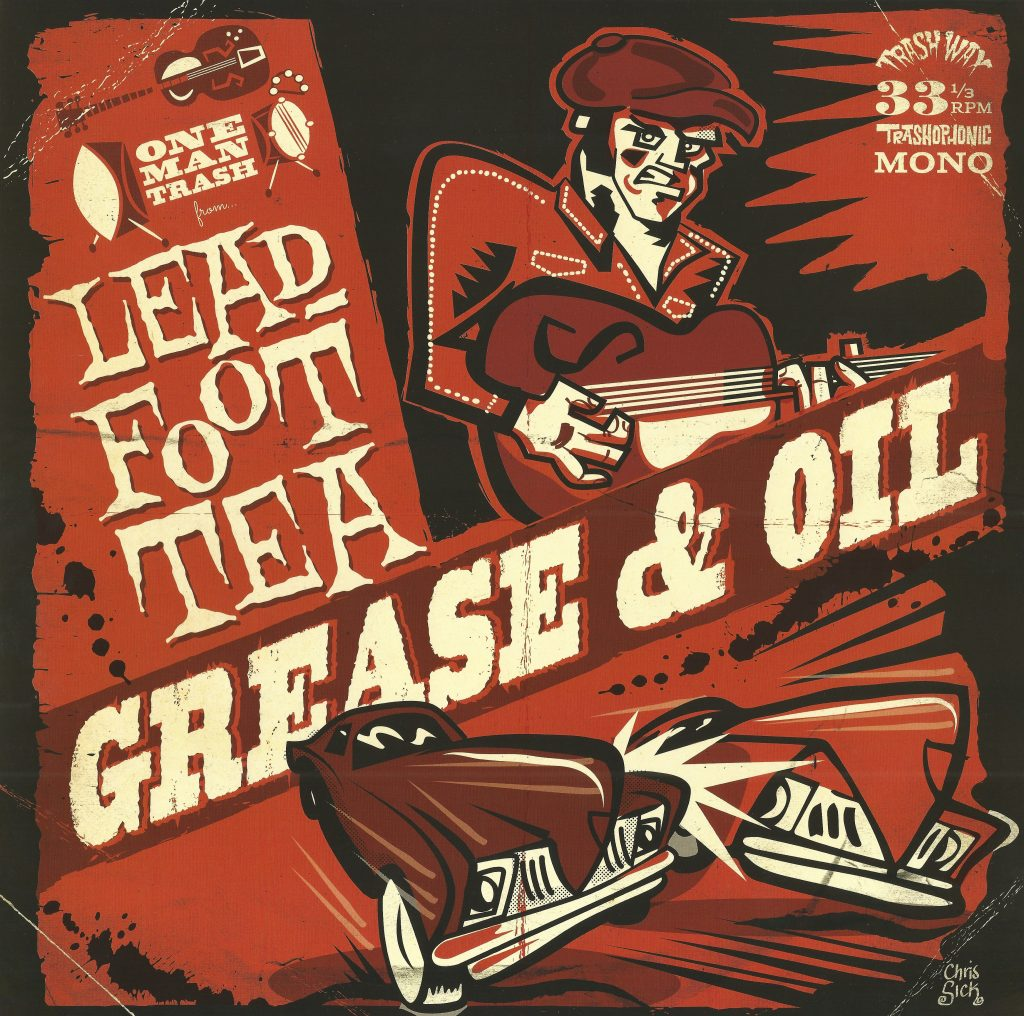 Grease & Oil, front scan