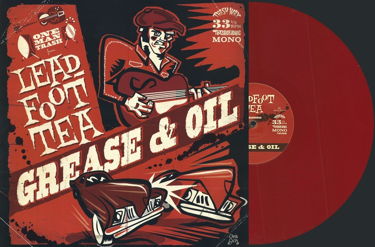 рецензия на пластинку Leadfoot Tea, Grease & Oil