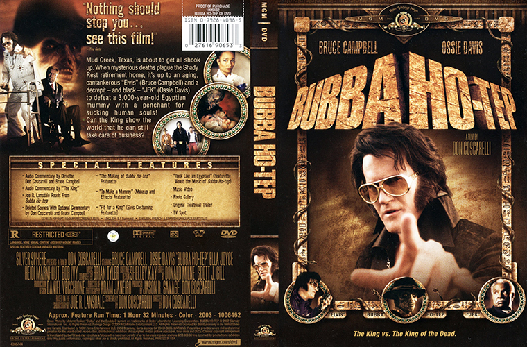 Bubb Ho-Tep (2002) DVD cover resized into a thumb.