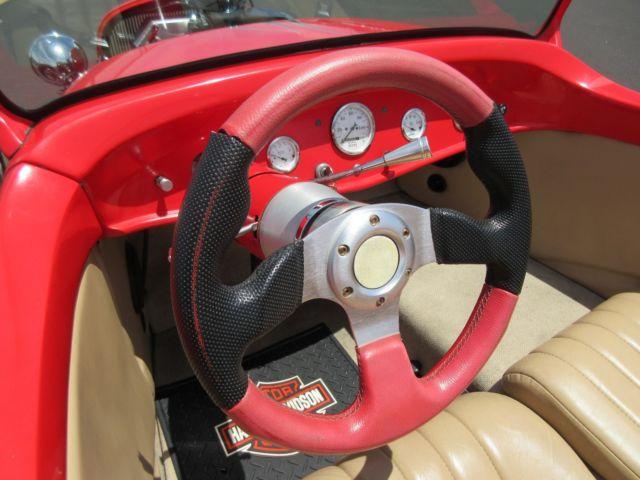 Красный хот-род с V2, фото 04.