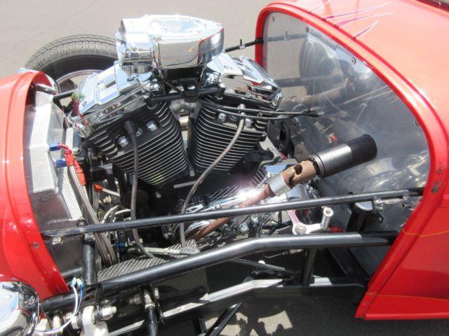 Красный хот-род с V2, фото 09.