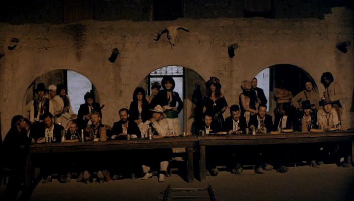 Аллюзия на Тайную Вечерю, Last Supper, Straight To Hell