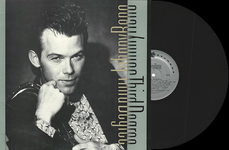 Тамб для статьи про альбом Third Degree Джонни Рино, сделанный из сканов пластинки и передней стороны конверта.