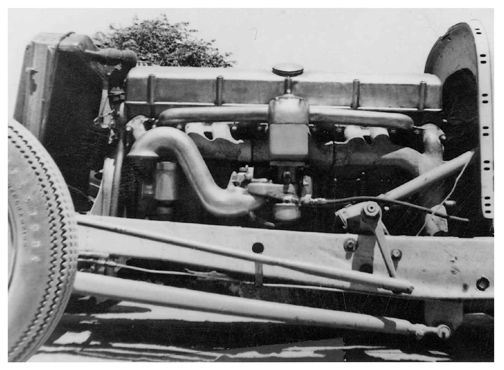 Dodge с V16, оригинальная конфигурация двигателя.