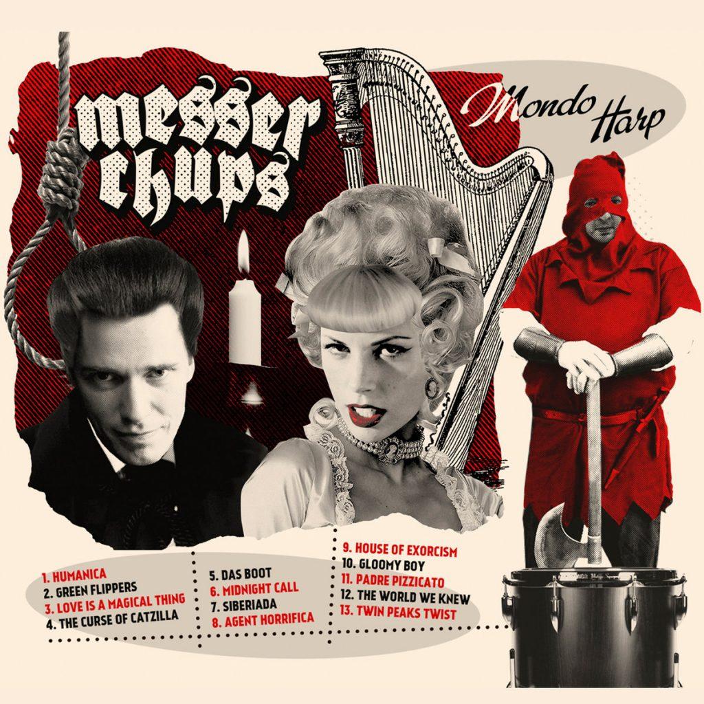 Mondo Harp, обложка альбома
