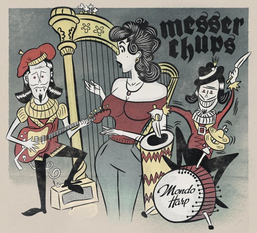 Mondo Harp, альтернативная обложка