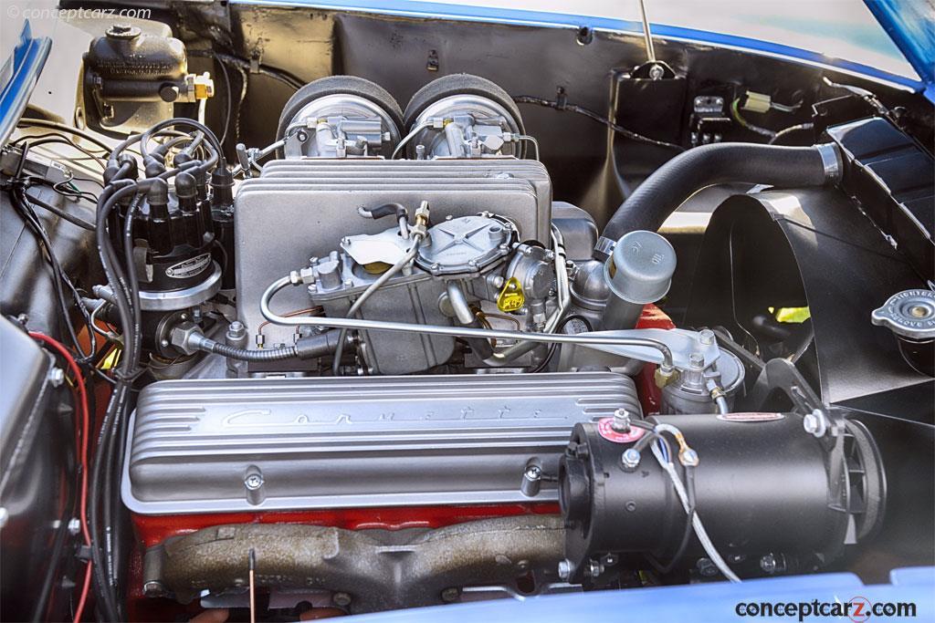 Chevrolet Corvette SR-2 в наше время, фото 4, двигатель.