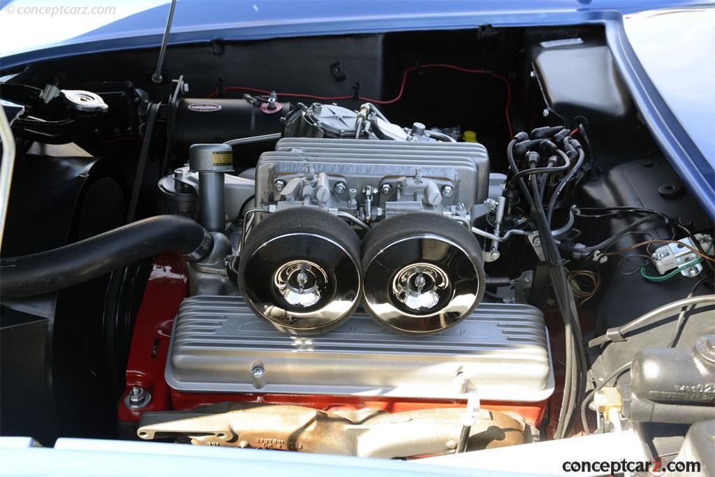 Chevrolet Corvette SR-2 в наше время, фото 5, двигатель.