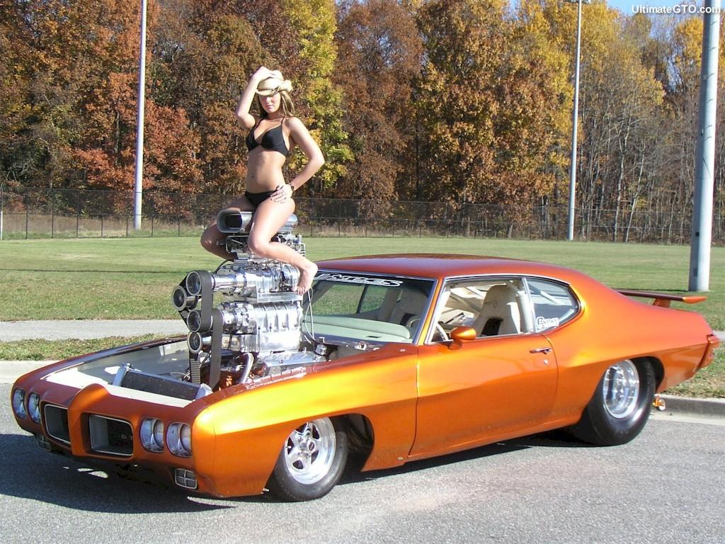 Pontiac GTO с двумя компрессорами, фото 01.