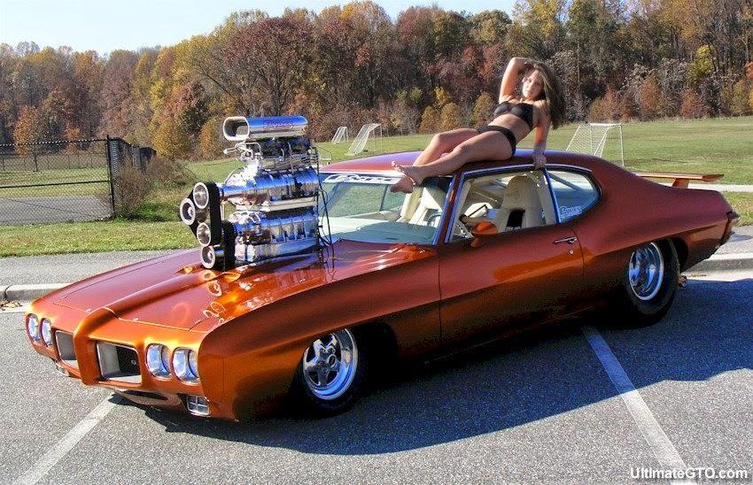 Pontiac GTO с двумя компрессорами, фото 02.