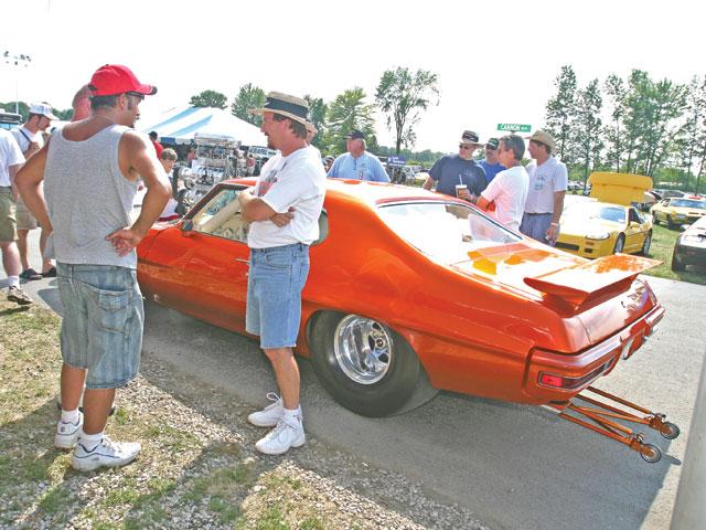 Pontiac GTO с двумя компрессорами, фото 03.