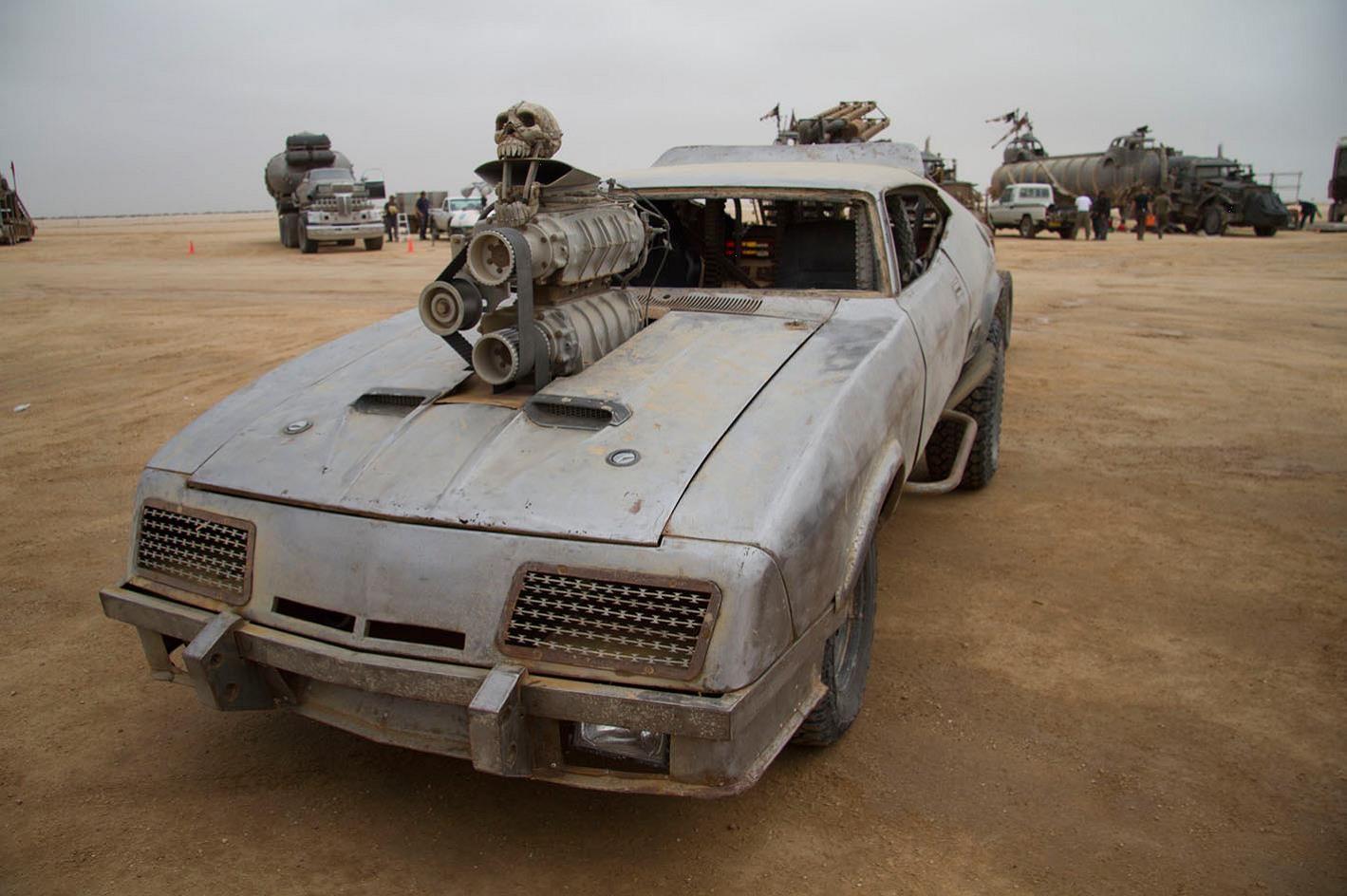 Razor Cola из фильма Mad Max: Fury Road.