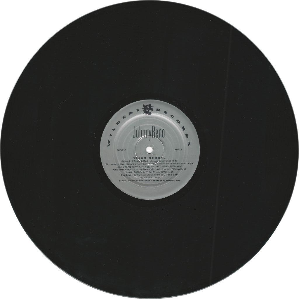 Виниловая пластинка, Third Degree, vinyl, Johnny Reno