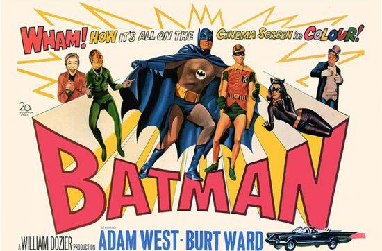 Постер фильма Бэтмэн 1966-ого года, переделанный в тамб для статьи.