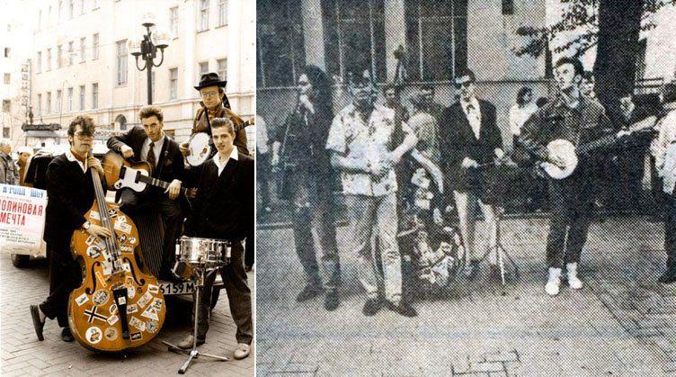 Бриолиновая Мечта, группа рокабилли