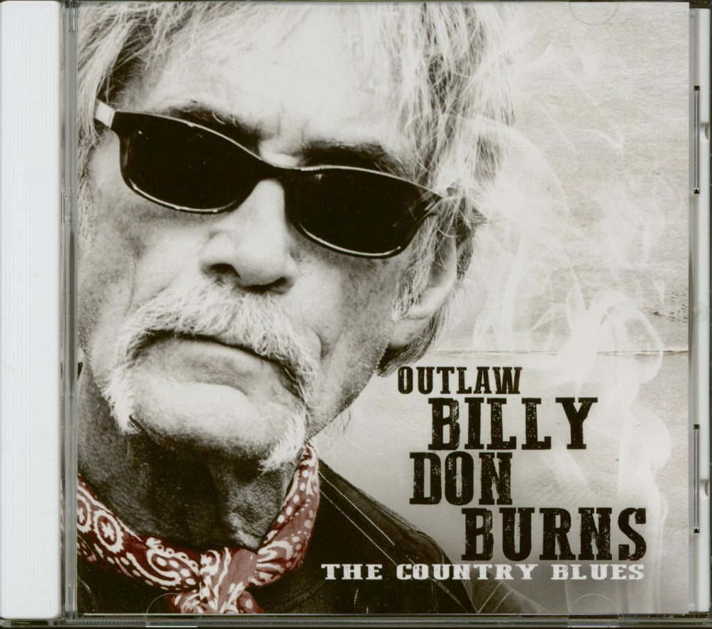 Billy Don Burns, The Country Blues, обложка CD