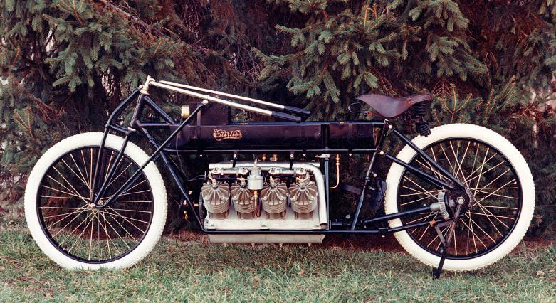 Мотоцикл Curtiss V-8.